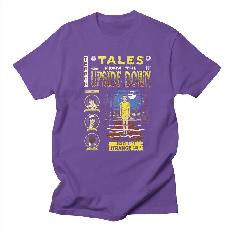 Tales from the Upside Down Women's Regular Unisex T-Shirt by Olipop Art & Design Shop