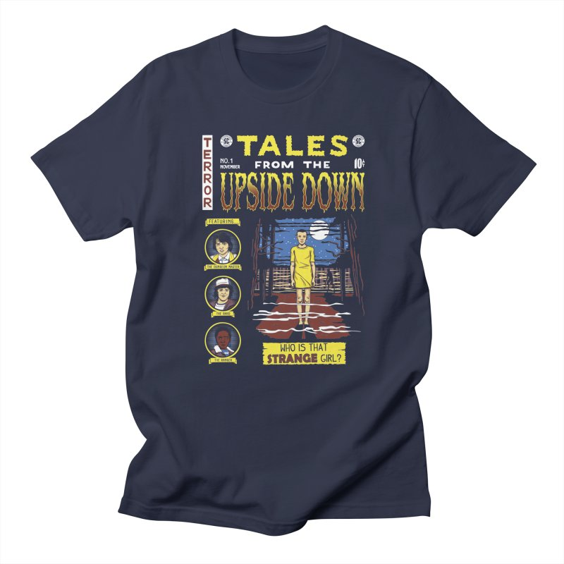 Tales from the Upside Down Women's Regular Unisex T-Shirt by Olipop Art & Design Shop