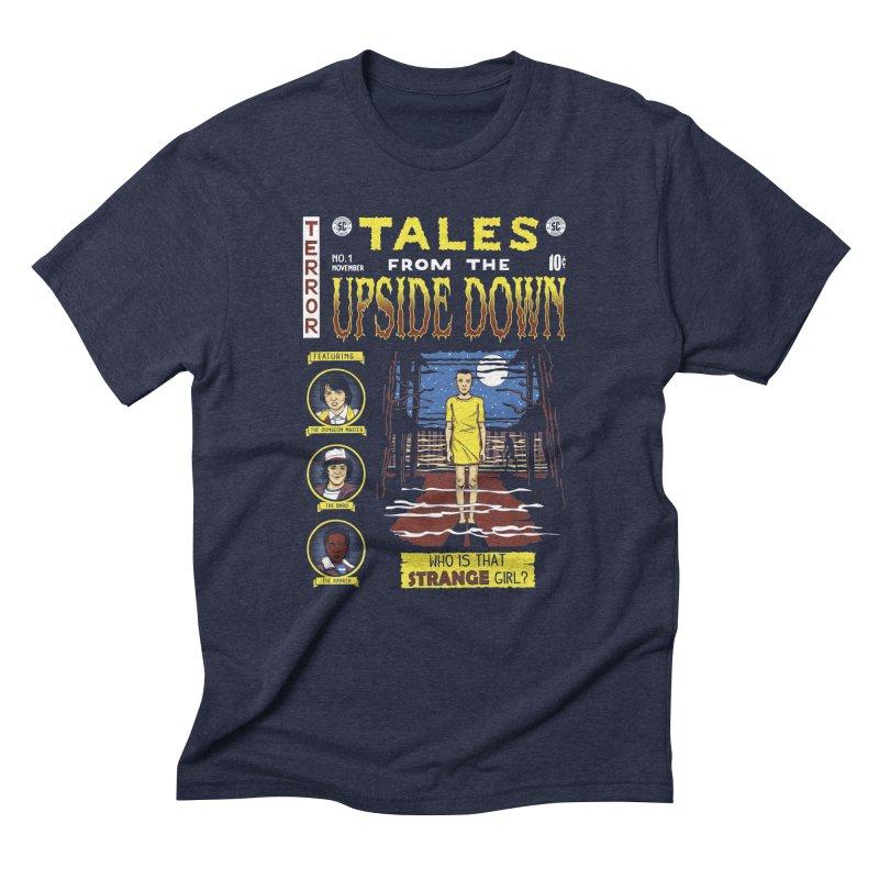 Tales from the Upside Down Men's Triblend T-Shirt by Olipop Art & Design Shop