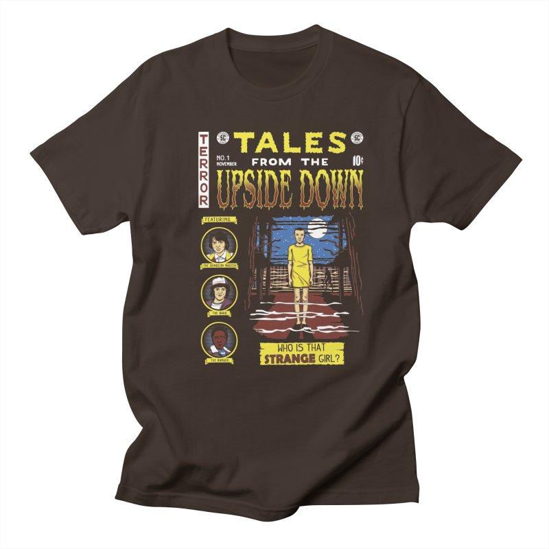 Tales from the Upside Down Men's Regular T-Shirt by Olipop Art & Design Shop