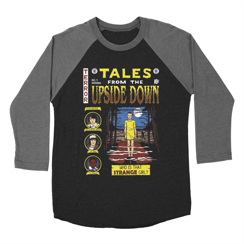 Tales from the Upside Down Men's Baseball Triblend T-Shirt by Olipop Art & Design Shop
