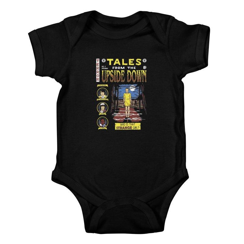 Tales from the Upside Down Kids Baby Bodysuit by Olipop Art & Design Shop