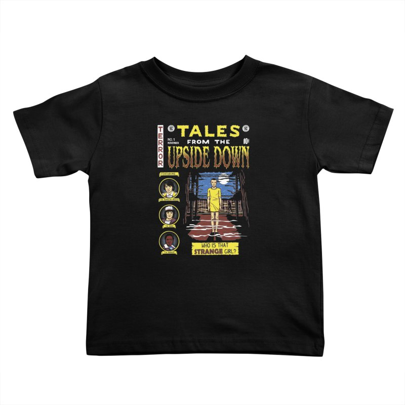 Tales from the Upside Down Kids Toddler T-Shirt by Olipop Art & Design Shop