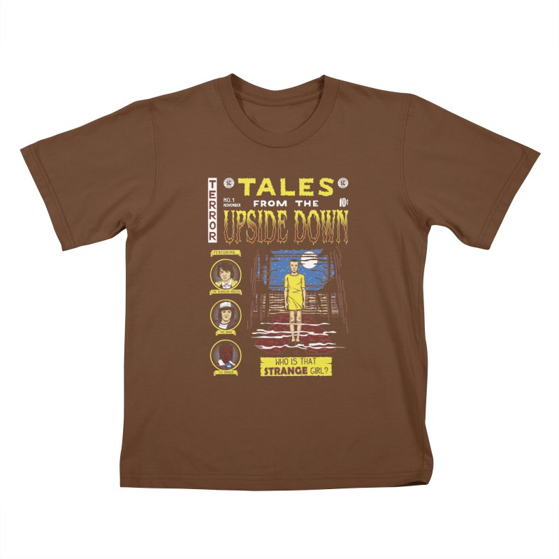 Tales from the Upside Down Kids T-Shirt by Olipop Art & Design Shop