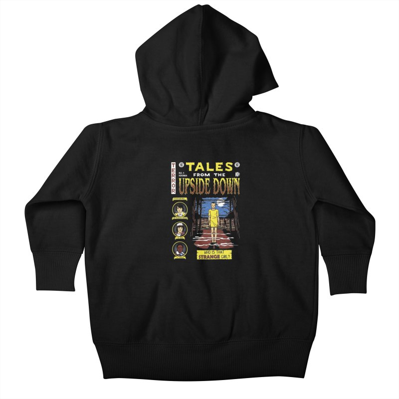 Tales from the Upside Down Kids Baby Zip-Up Hoody by Olipop Art & Design Shop