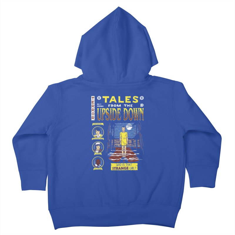 Tales from the Upside Down Kids Toddler Zip-Up Hoody by Olipop Art & Design Shop