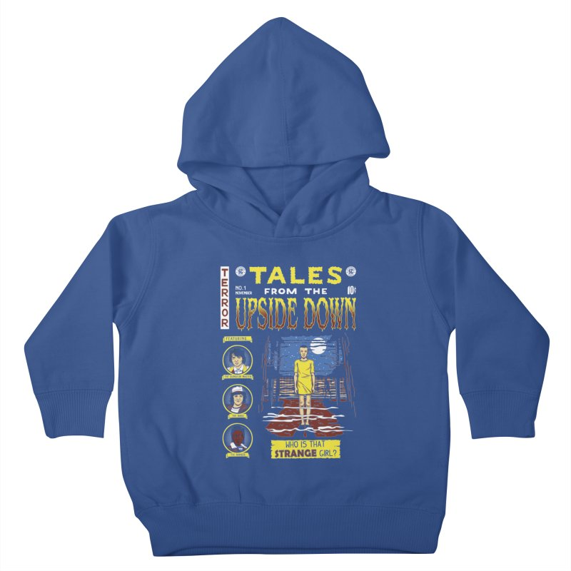 Tales from the Upside Down Kids Toddler Pullover Hoody by Olipop Art & Design Shop
