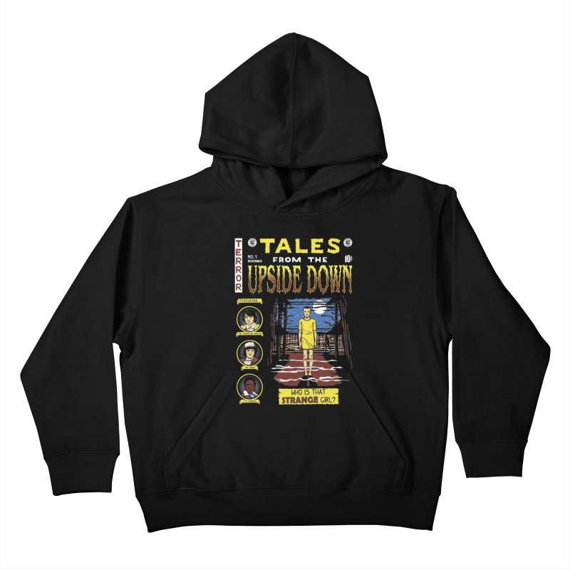 Tales from the Upside Down Kids Pullover Hoody by Olipop Art & Design Shop