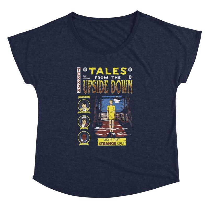 Tales from the Upside Down Women's Dolman by Olipop Art & Design Shop