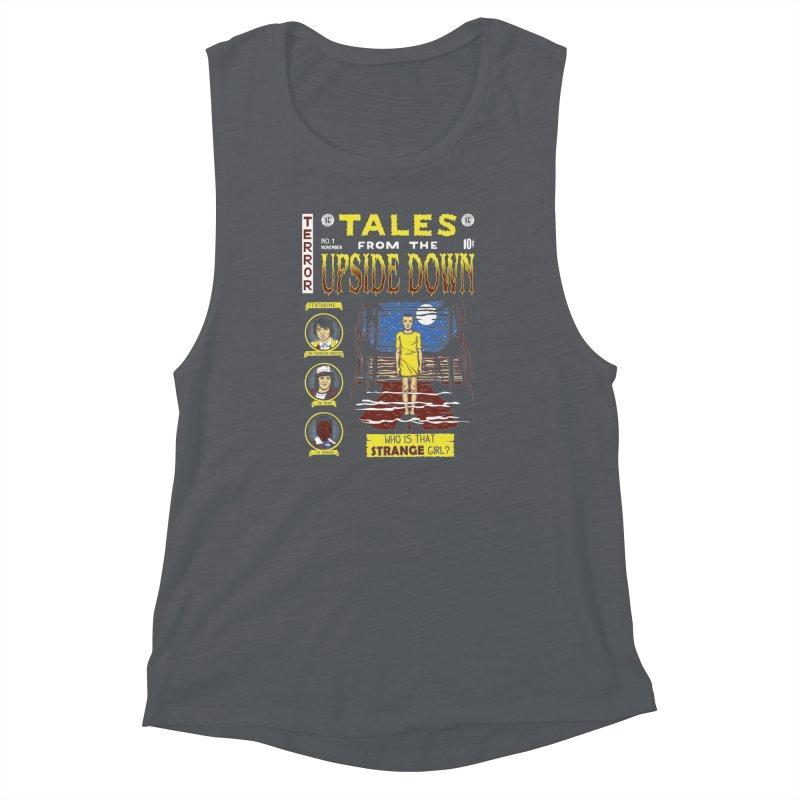Tales from the Upside Down Women's Muscle Tank by Olipop Art & Design Shop