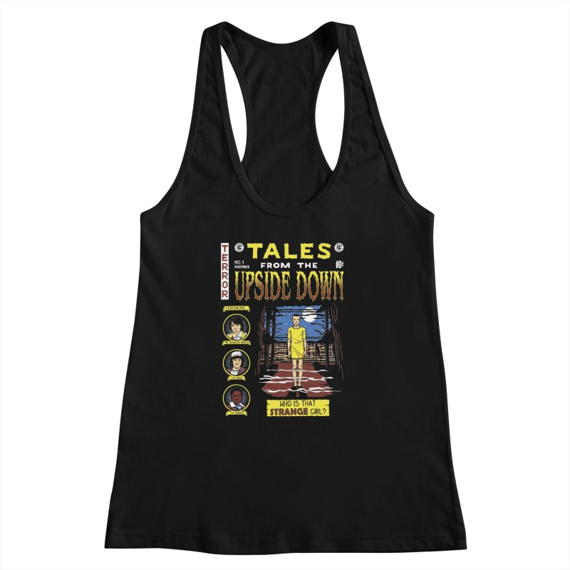 Tales from the Upside Down Women's Racerback Tank by Olipop Art & Design Shop
