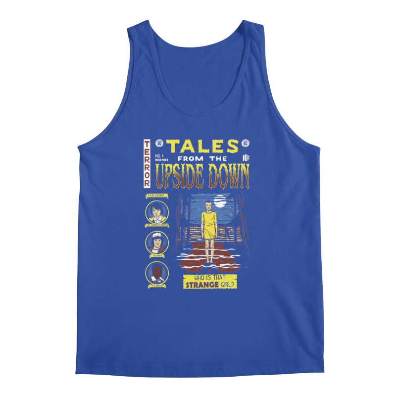 Tales from the Upside Down Men's Regular Tank by Olipop Art & Design Shop