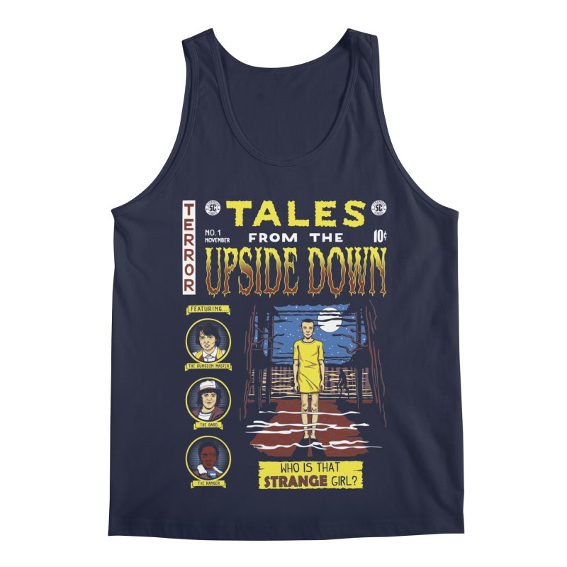 Tales from the Upside Down Men's Regular Tank by Olipop Art & Design Shop