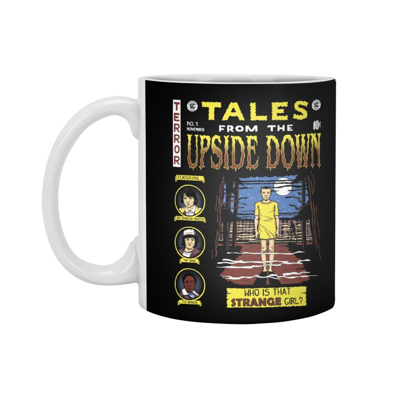 Tales from the Upside Down Accessories Mug by Olipop Art & Design Shop