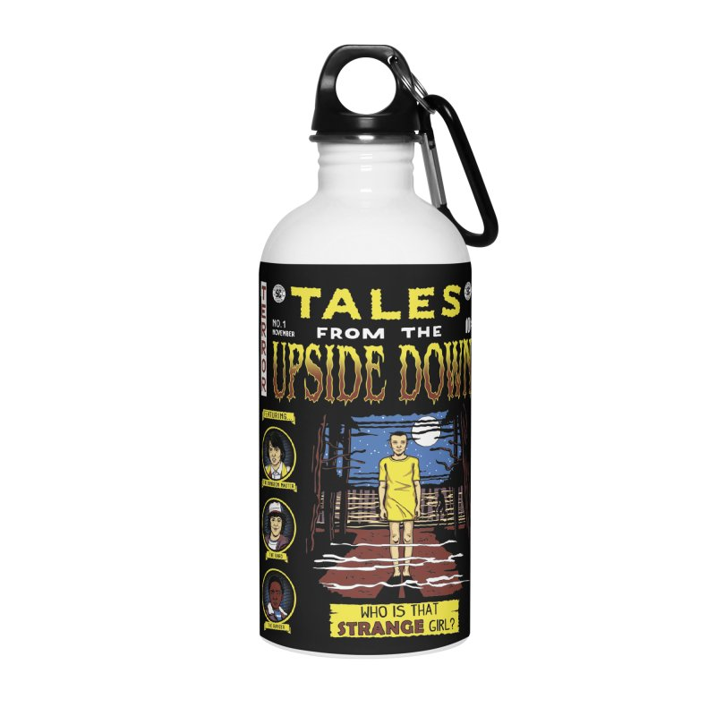 Tales from the Upside Down Accessories Water Bottle by Olipop Art & Design Shop