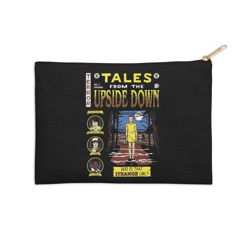 Tales from the Upside Down Accessories Zip Pouch by Olipop Art & Design Shop