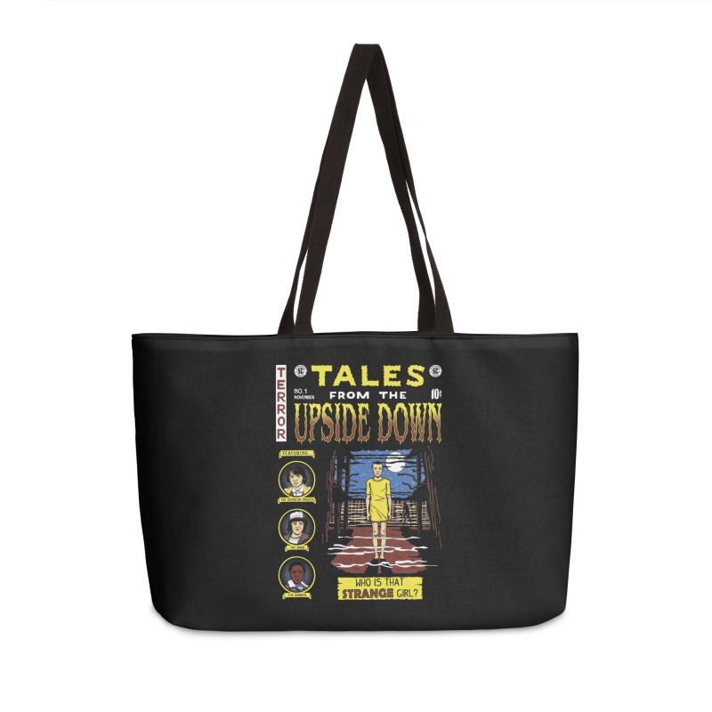 Tales from the Upside Down Accessories Weekender Bag Bag by Olipop Art & Design Shop