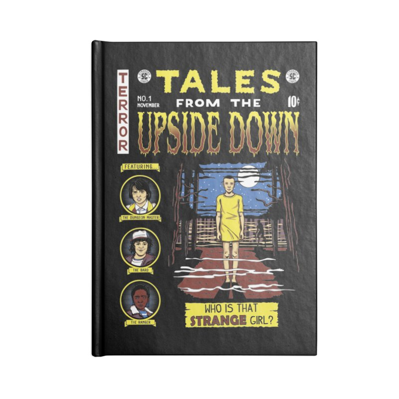 Tales from the Upside Down Accessories Notebook by Olipop Art & Design Shop