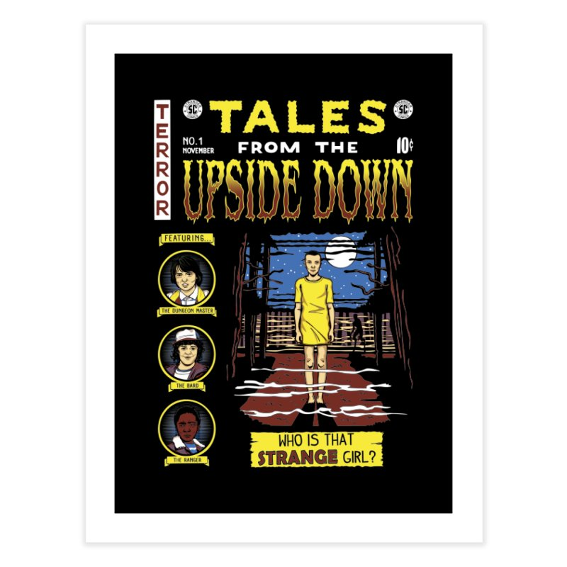 Tales from the Upside Down Home Fine Art Print by Olipop Art & Design Shop