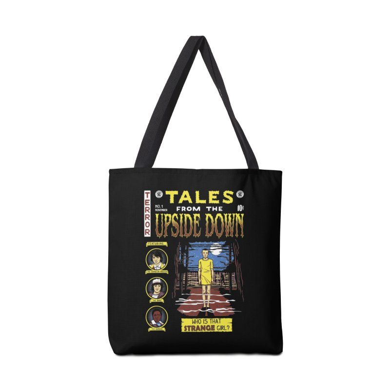 Tales from the Upside Down Accessories Tote Bag Bag by Olipop Art & Design Shop