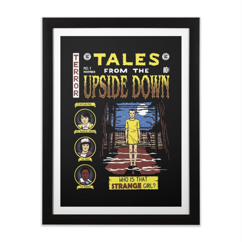 Tales from the Upside Down Home Framed Fine Art Print by Olipop Art & Design Shop