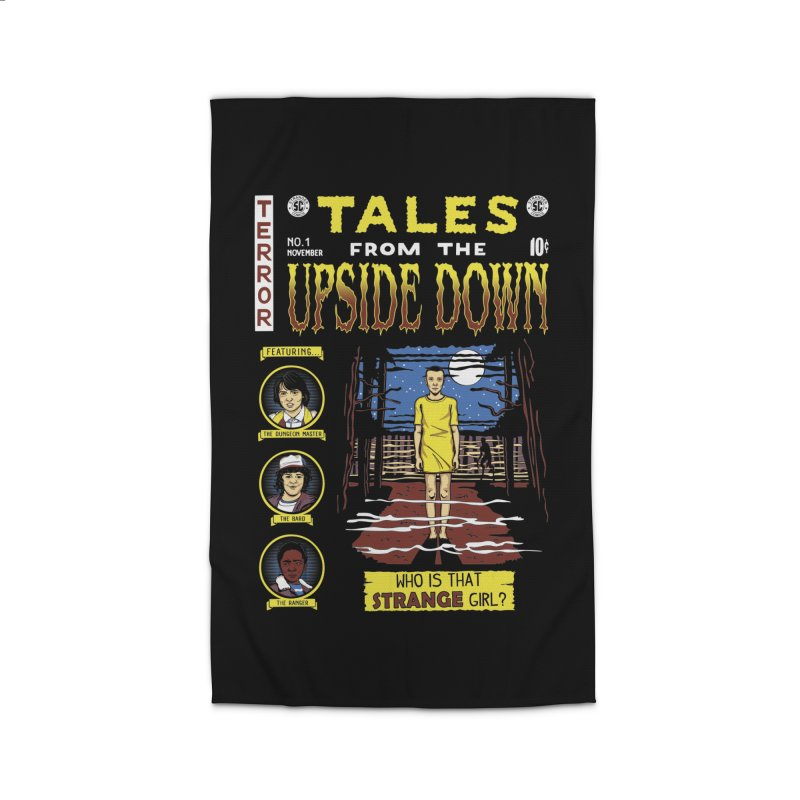 Tales from the Upside Down Home Rug by Olipop Art & Design Shop
