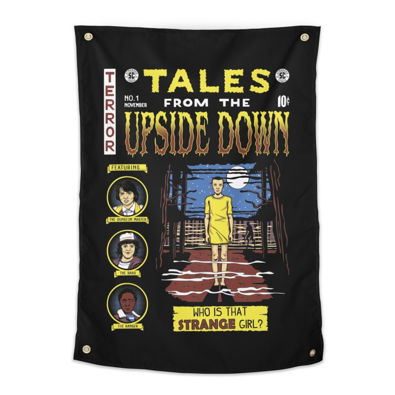 Tales from the Upside Down Home Tapestry by Olipop Art & Design Shop