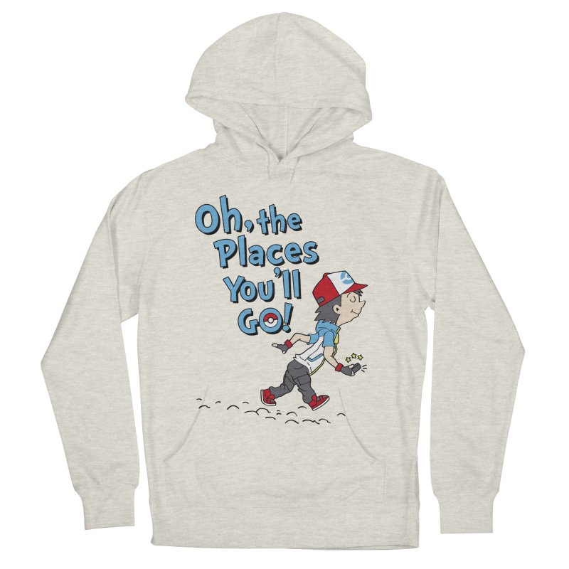 Go Trainer Go! Men's French Terry Pullover Hoody by Olipop Art & Design Shop