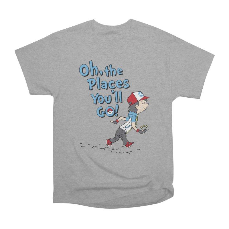 Go Trainer Go! Men's Heavyweight T-Shirt by Olipop Art & Design Shop
