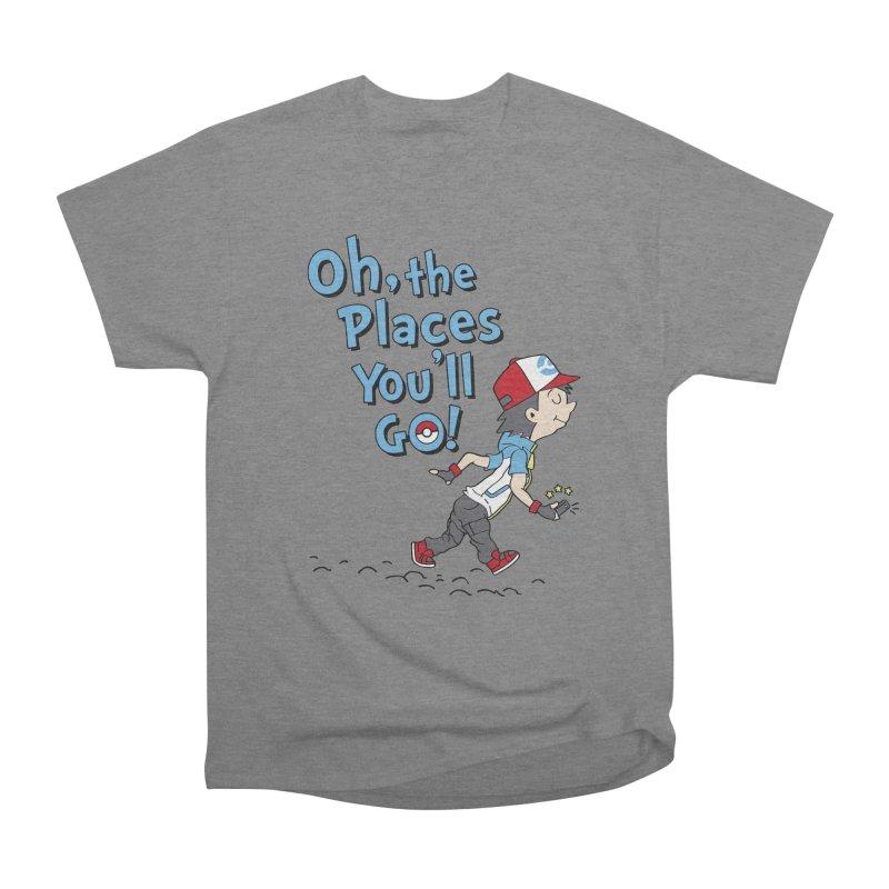 Go Trainer Go! Women's Heavyweight Unisex T-Shirt by Olipop Art & Design Shop
