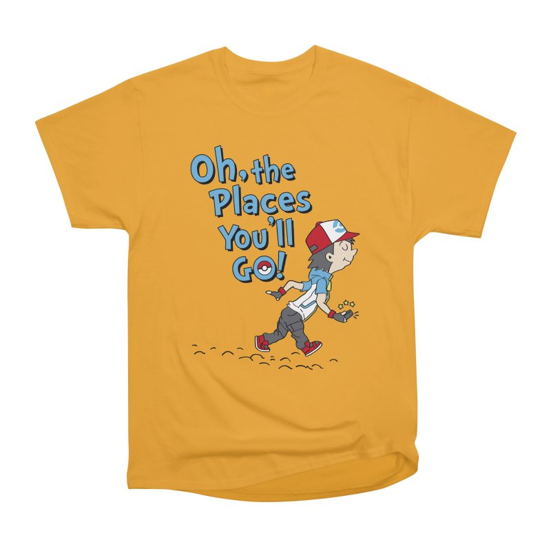 Go Trainer Go! Men's Heavyweight T-Shirt by Olipop Art & Design Shop