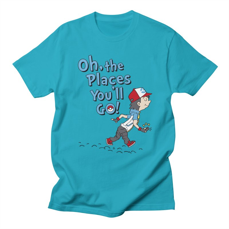 Go Trainer Go! Men's Regular T-Shirt by Olipop Art & Design Shop