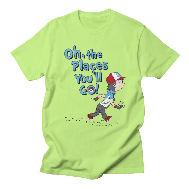 Go Trainer Go! Women's Regular Unisex T-Shirt by Olipop Art & Design Shop