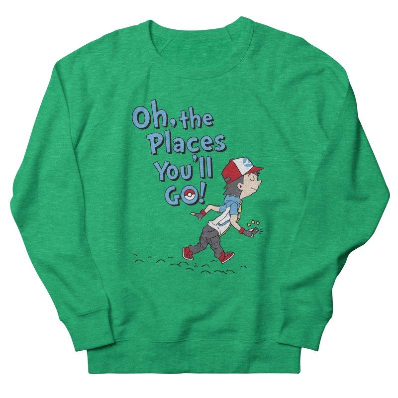 Go Trainer Go! Women's French Terry Sweatshirt by Olipop Art & Design Shop