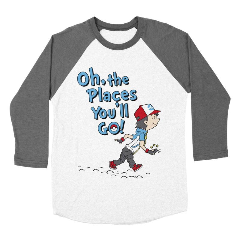 Go Trainer Go! Women's Baseball Triblend Longsleeve T-Shirt by Olipop Art & Design Shop