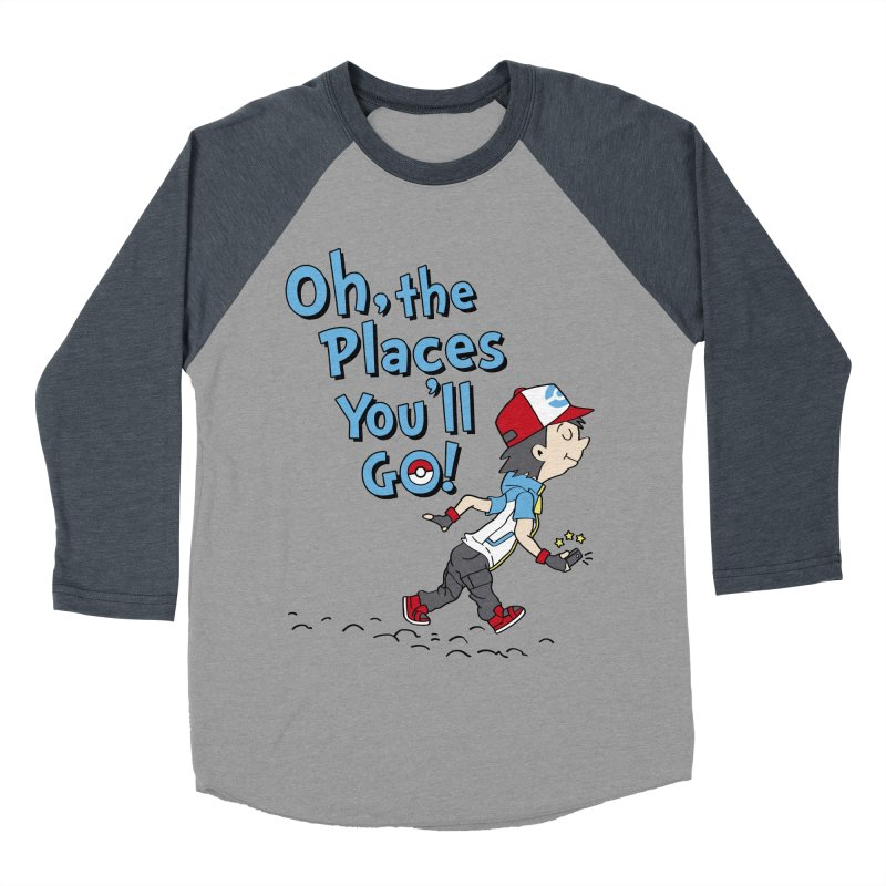 Go Trainer Go! Women's Baseball Triblend Longsleeve T-Shirt by Olipop Art & Design Shop