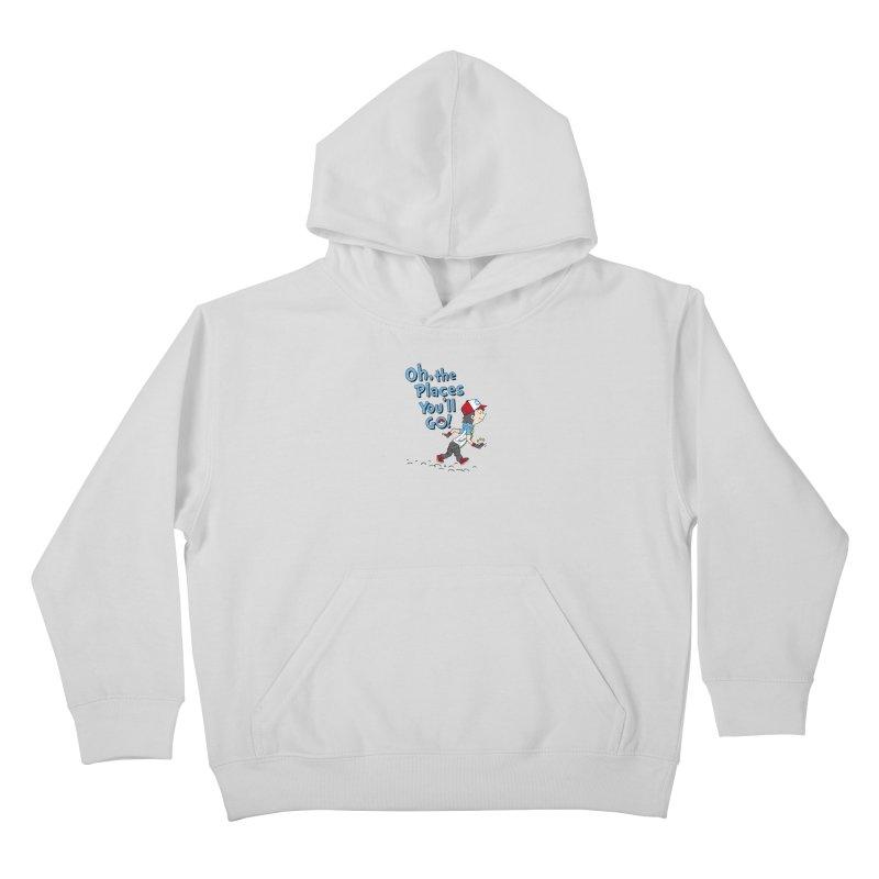 Go Trainer Go! Kids Pullover Hoody by Olipop Art & Design Shop