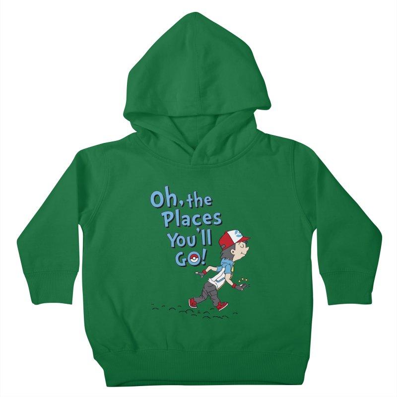 Go Trainer Go! Kids Toddler Pullover Hoody by Olipop Art & Design Shop