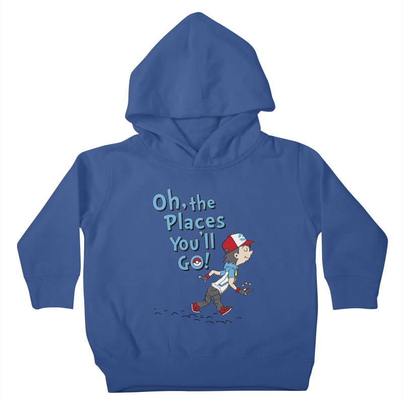 Go Trainer Go! Kids Toddler Pullover Hoody by Olipop Art & Design Shop