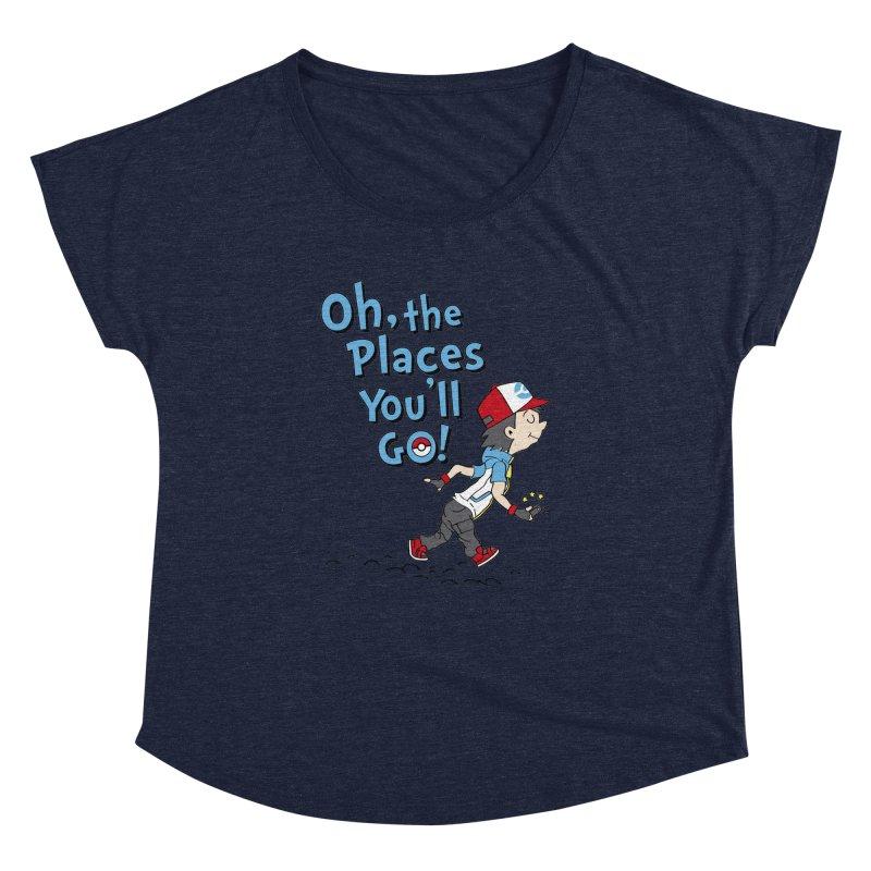 Go Trainer Go! Women's Dolman by Olipop Art & Design Shop