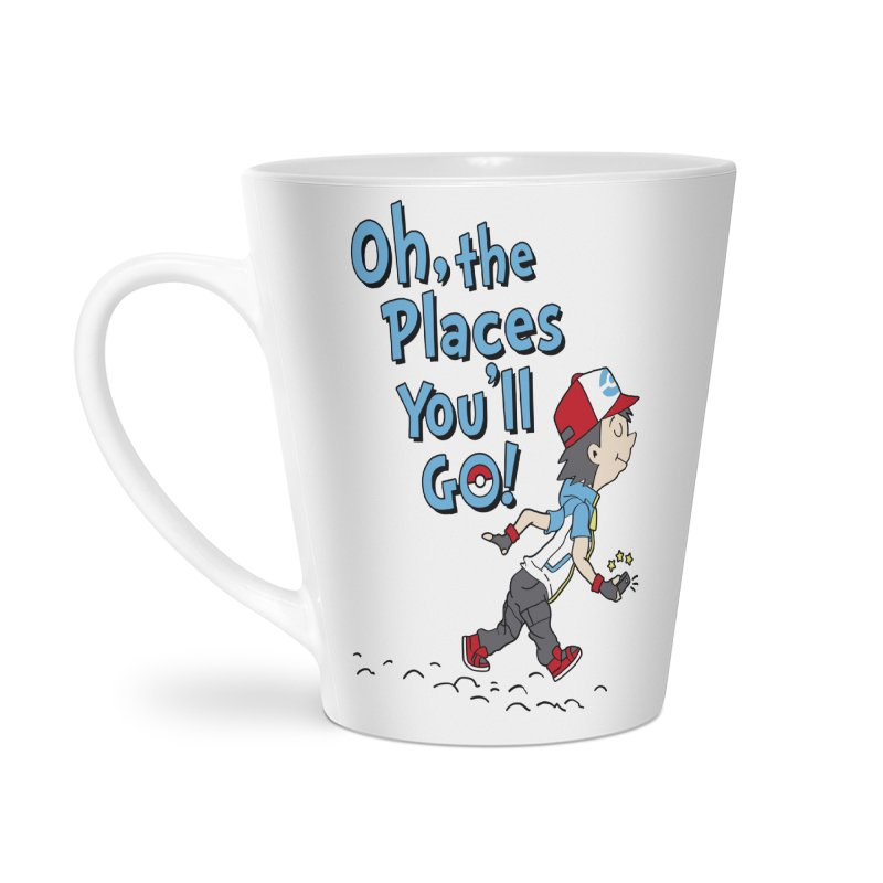 Go Trainer Go! Accessories Latte Mug by Olipop Art & Design Shop