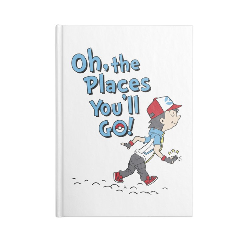 Go Trainer Go! Accessories Blank Journal Notebook by Olipop Art & Design Shop