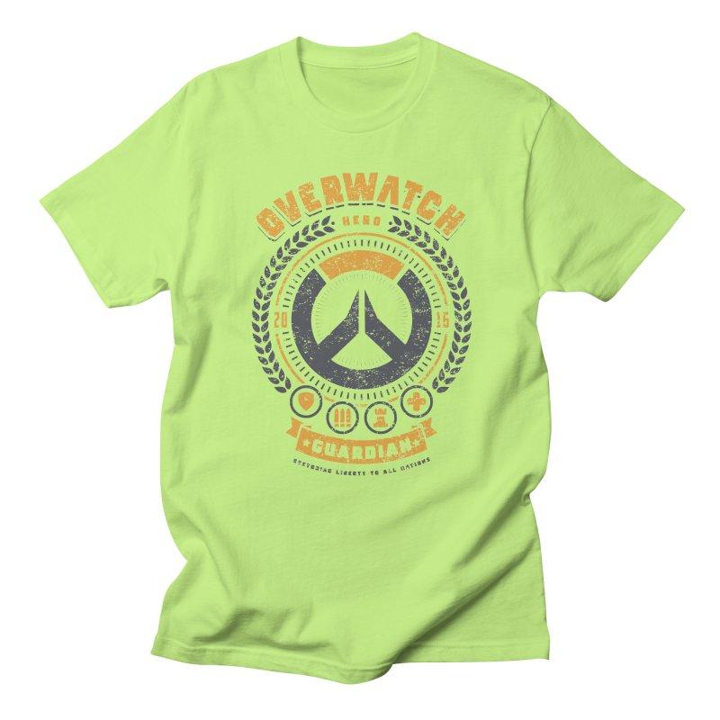 Guardian Hero Women's Regular Unisex T-Shirt by Olipop Art & Design Shop