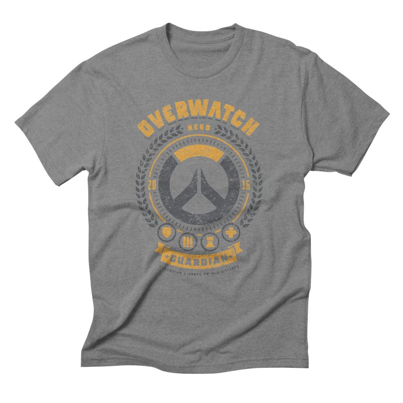 Guardian Hero Men's Triblend T-Shirt by Olipop Art & Design Shop