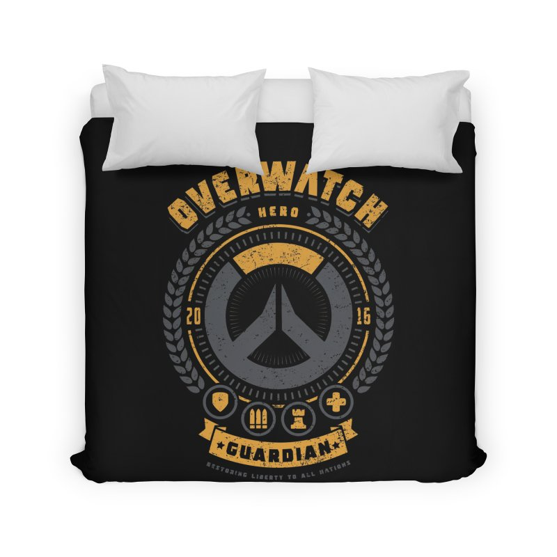 Guardian Hero Home Duvet by Olipop Art & Design Shop