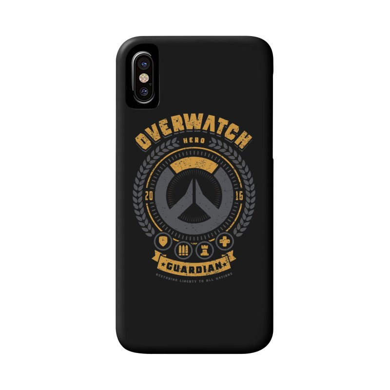 Guardian Hero Accessories Phone Case by Olipop Art & Design Shop