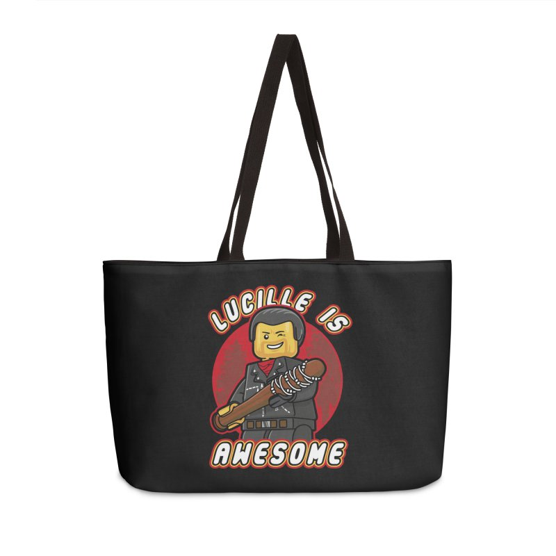 Lucille is Awesome Accessories Weekender Bag Bag by Olipop Art & Design Shop