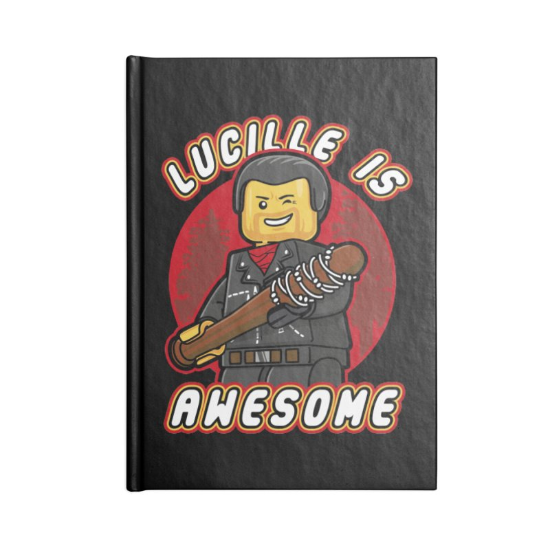 Lucille is Awesome Accessories Blank Journal Notebook by Olipop Art & Design Shop