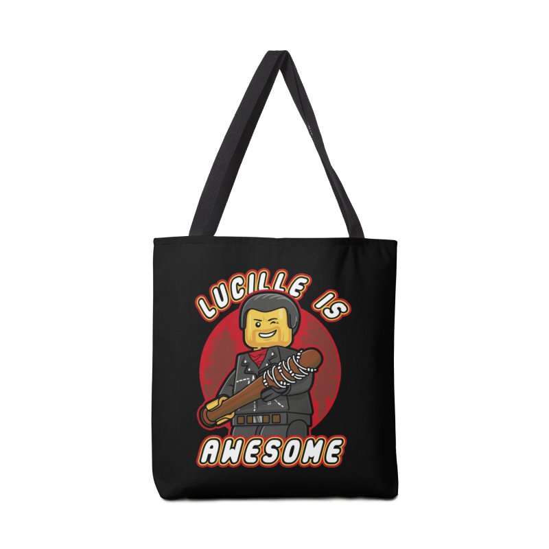 Lucille is Awesome Accessories Bag by Olipop Art & Design Shop