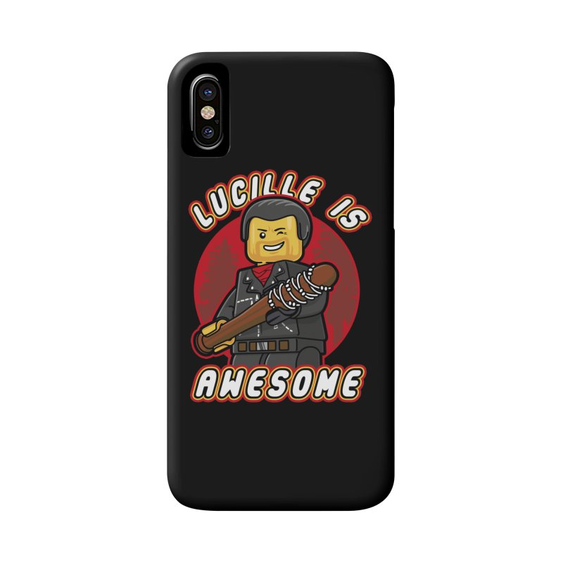 Lucille is Awesome Accessories Phone Case by Olipop Art & Design Shop